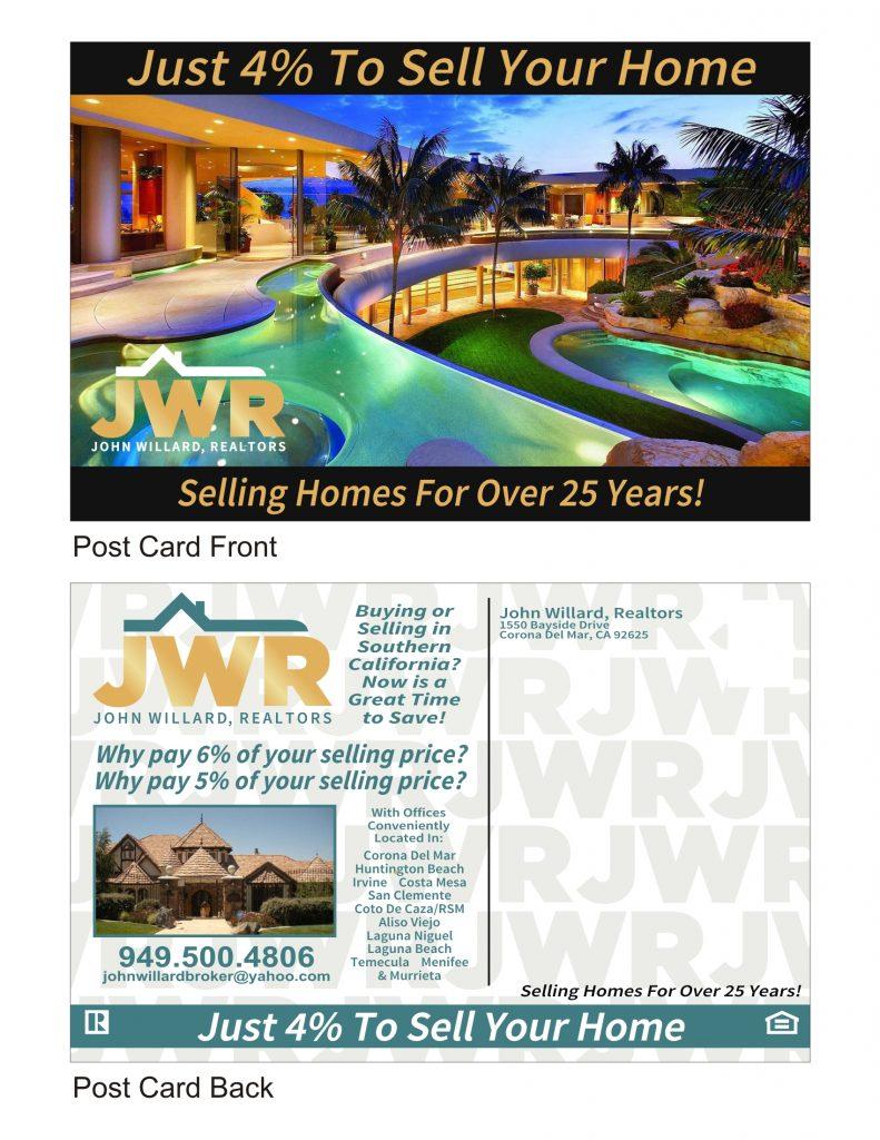 JWR Postcard Mock
