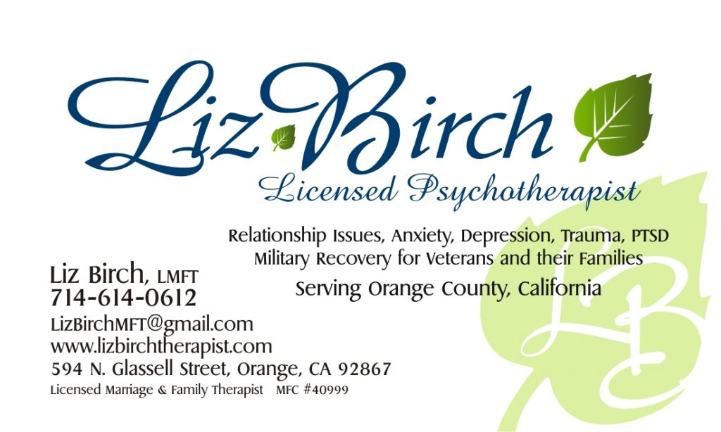 Liz Birch Business Card FRONT