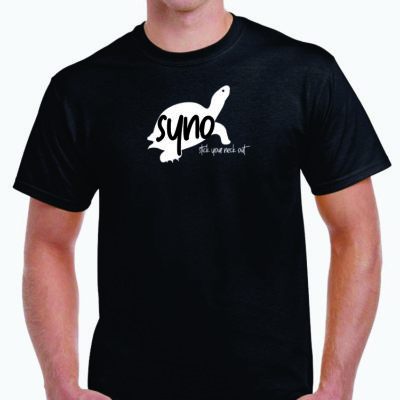 SYNO Logo Tee - Black