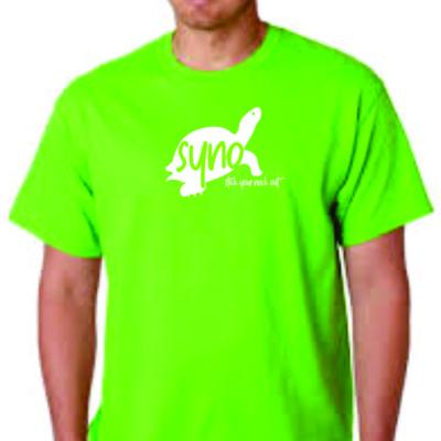 SYNO Logo Tee - Lime